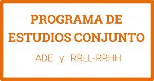 Programa de Estudios Conjunto