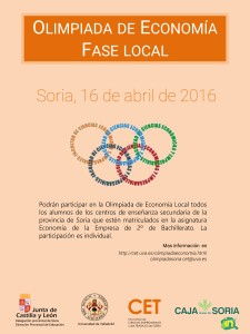 Fase Local Olimpiada de Economía