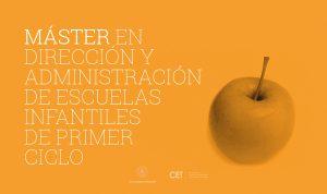 Máster en DIRECCIÓN Y ADMINISTRACIÓN DE ESCUELAS INFANTILES DE PRIMER CICLO