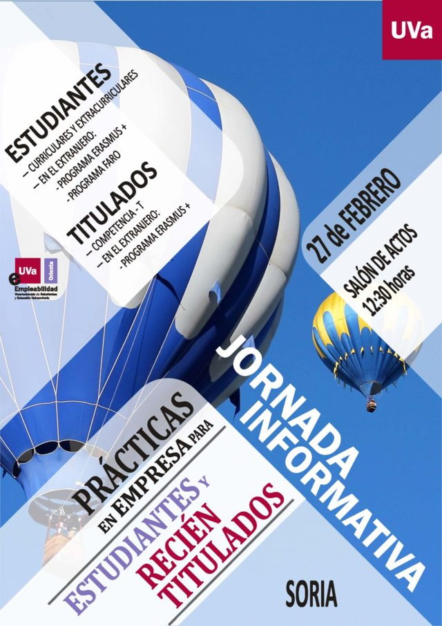 Jornada Informativa sobre Prácticas en Empresas