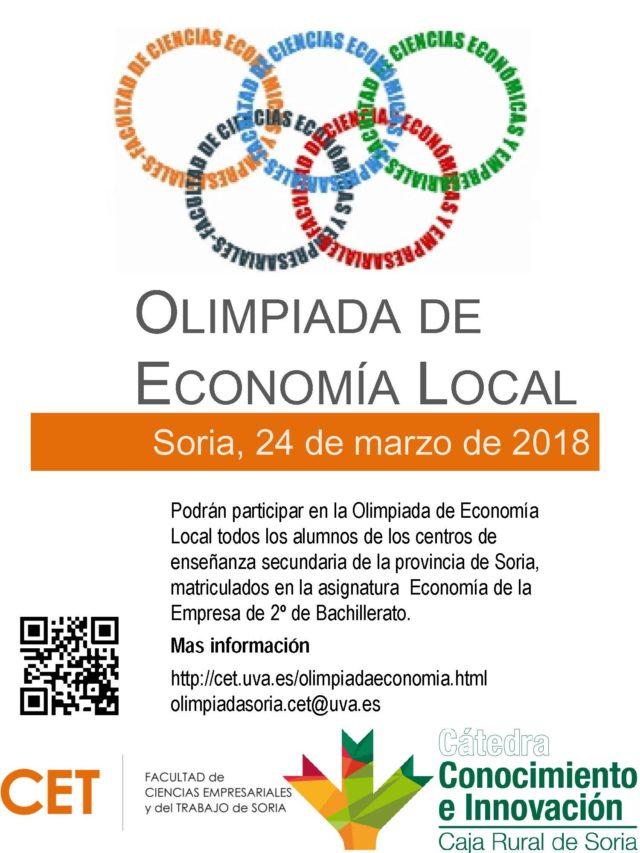Fase Local de la Olimpiada de Economía