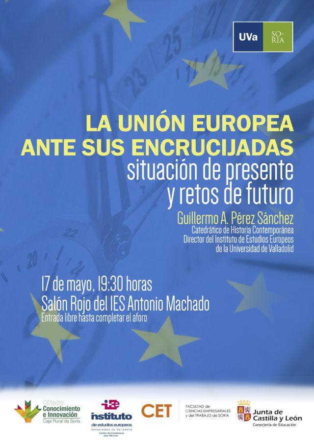 Conferencia La Unión Europea ante sus encrucijadas